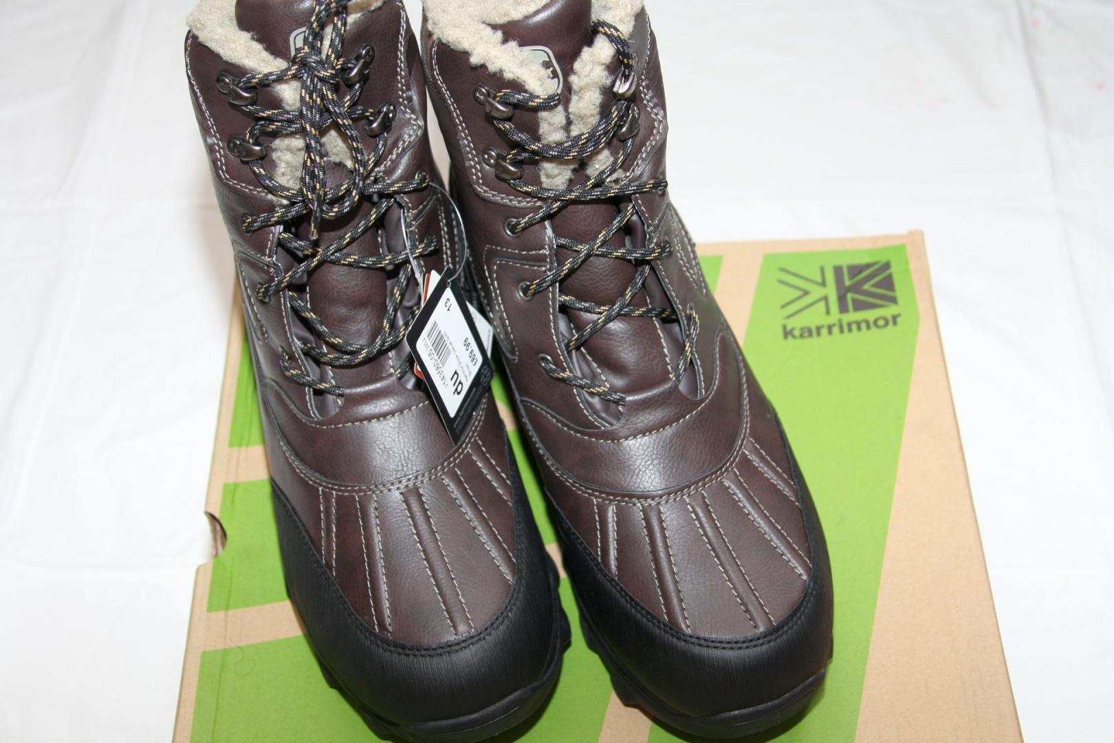 Отзыв на Karrimor Casual для мужчин зимние ботинки из Интернет-Магазина Sports Direct