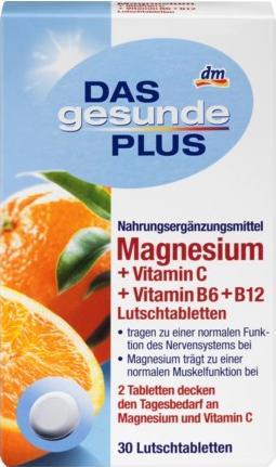 Отзыв на Магний г  Витамин C B6 В12 Пастилки, 45 из Интернет-Магазина DM