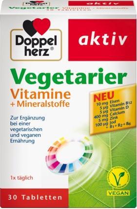 Отзыв на Вегетарианцы витамины  Минеральные вещества Таблетки, 30 St из Интернет-Магазина DM