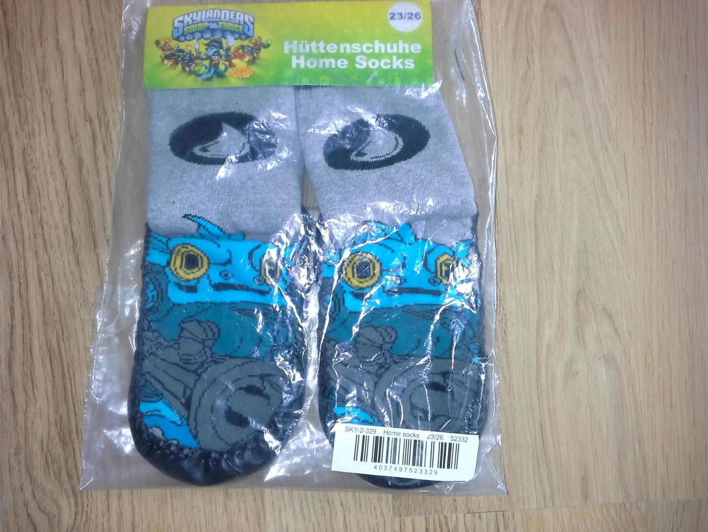 Отзыв на Skylanders носки для дома серая из Интернет-Магазина