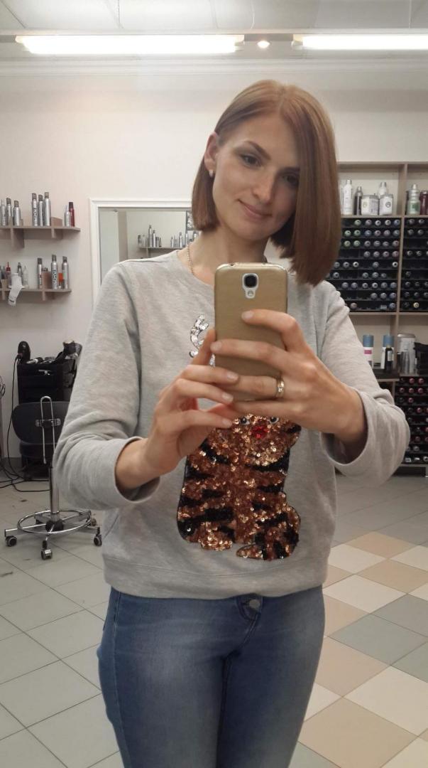 Отзыв на Свитер с блестками из Интернет-Магазина H&M