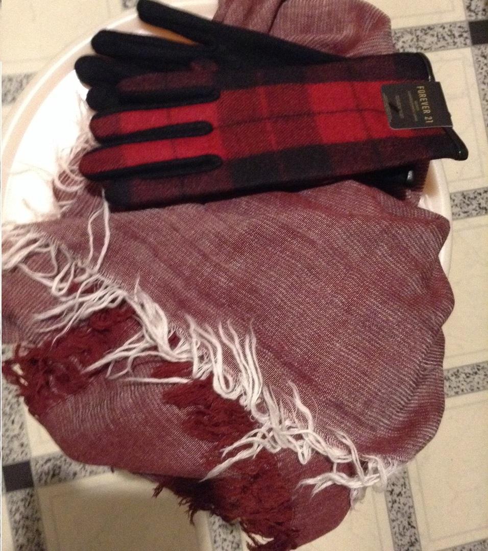 Отзыв на Тканые клетчатый перчатки из Интернет-Магазина