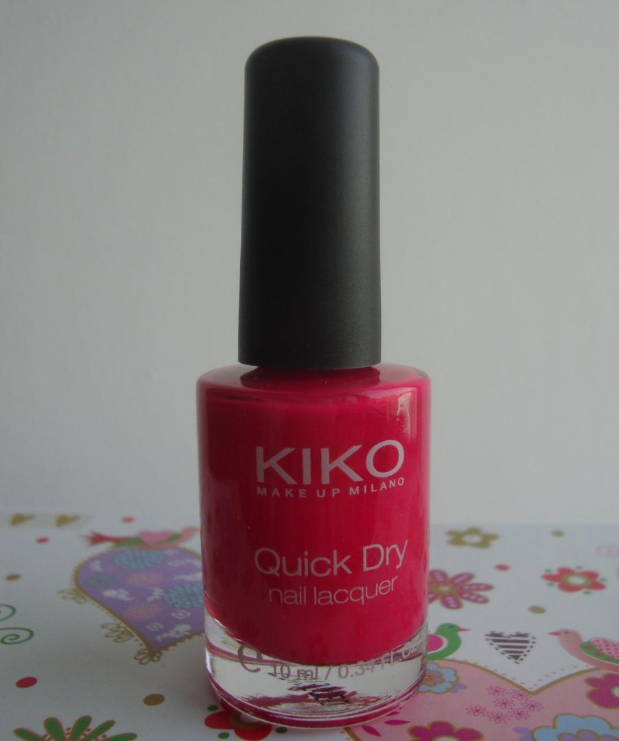 Отзыв на Quick Dry Nail Lacquer из Интернет-Магазина Kikocosmetics