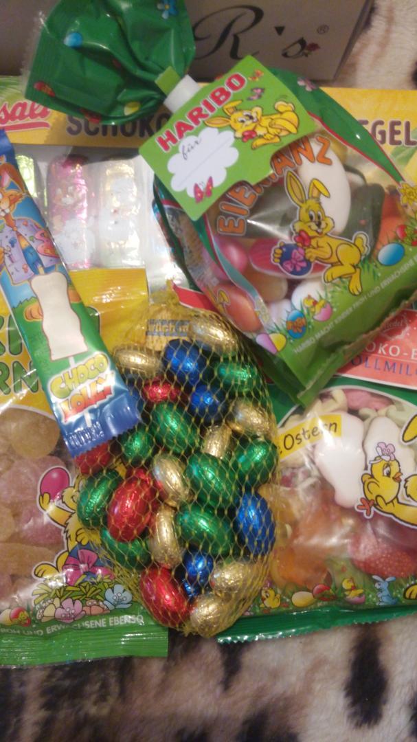 Отзыв на Фридель Шоколадные Яйца Цельное молоко Сеть из Интернет-Магазина World of Sweets