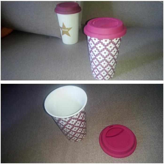 Отзыв на Кофейная чашка с крышкой из Интернет-Магазина Ernstings family