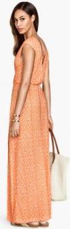 Отзыв на Длинная платье трикотажное из Интернет-Магазина H&M