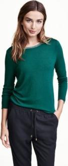 Отзыв на Рубашка с полушерстяной из Интернет-Магазина H&M