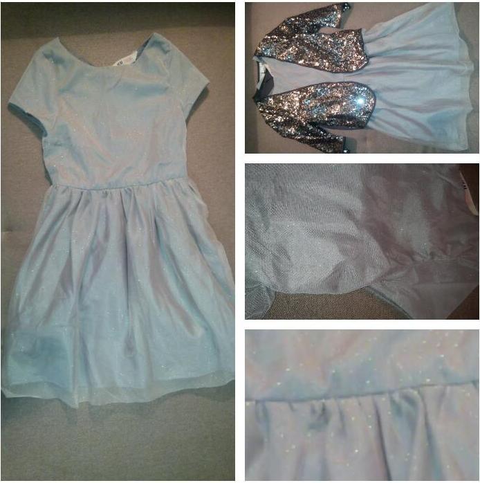 Отзыв на Блестящее бальное платье из Интернет-Магазина H&M