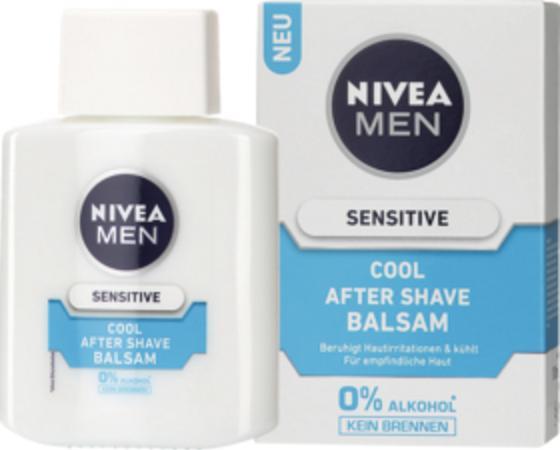 Отзыв на NIVEA MEN After Shave Бальзам Sensitive Круто, 100 мл из Интернет-Магазина DM