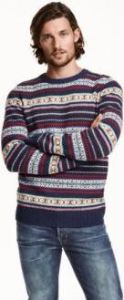 Отзыв на Пуловер жаккардовый шерстяные из Интернет-Магазина H&M
