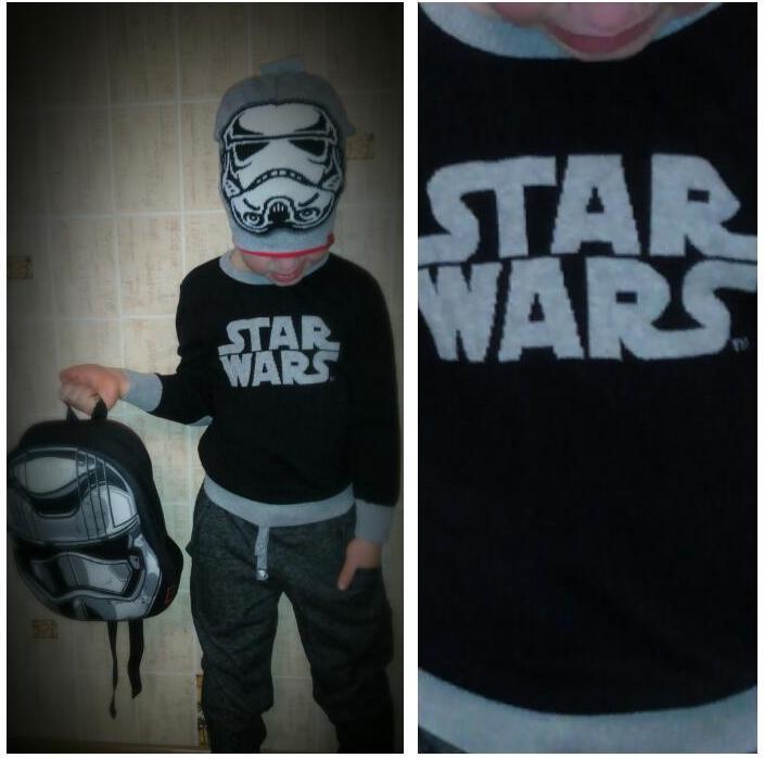 Отзыв на Star Wars Baumwoll-Pullover из Интернет-Магазина C&A