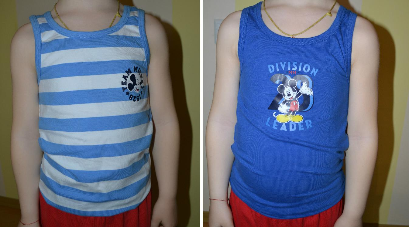 Отзыв на 2 пары Mickey Mouse Майки-топ из Интернет-Магазина C&A