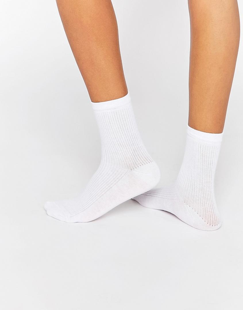 Отзыв на ASOS – Одноцветные, Ребристые Носки из Интернет-Магазина Asos