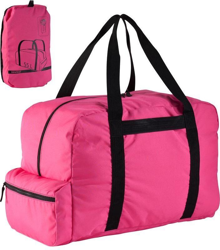 Отзыв на Дорожная сумка Duffle l складной 55 розовый NEWFEEL из Интернет-Магазина Decathlon