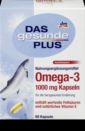 Отзыв на Омега-3 1000 мг Капсулы, 60 St из Интернет-Магазина DM