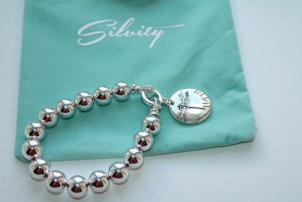 Отзыв на Браслет Серебряные ювелирные изделия: Счастливый Браслет из Интернет-Магазина Silvity