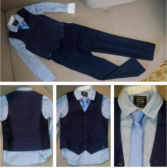 Отзыв на С длинными рукавами Рубашка с жилетом  Галстук из Интернет-Магазина C&A