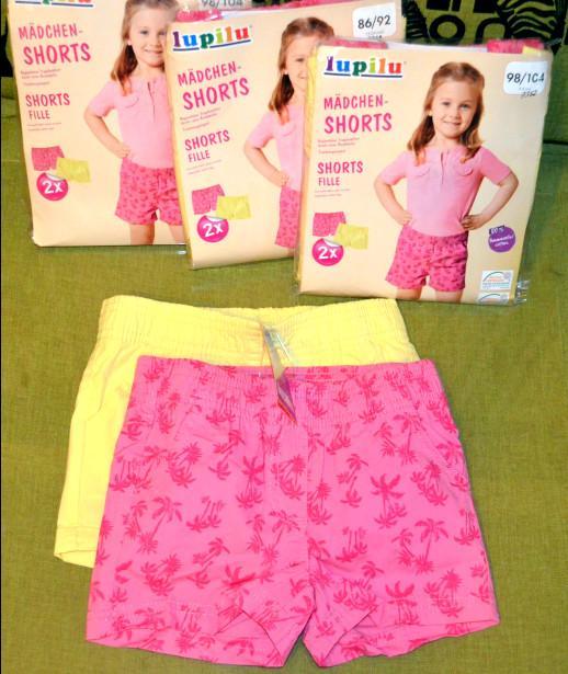 Отзыв на LUPILU® 2 для девочки малыша Шорты из Интернет-Магазина LIDL
