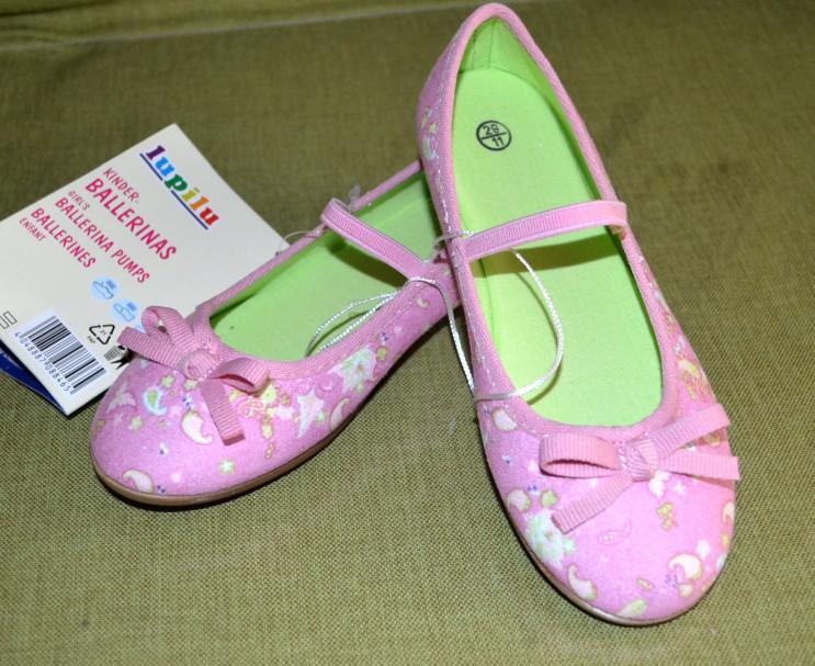 Отзыв на LUPILU® для девочки малыша балетки из Интернет-Магазина LIDL