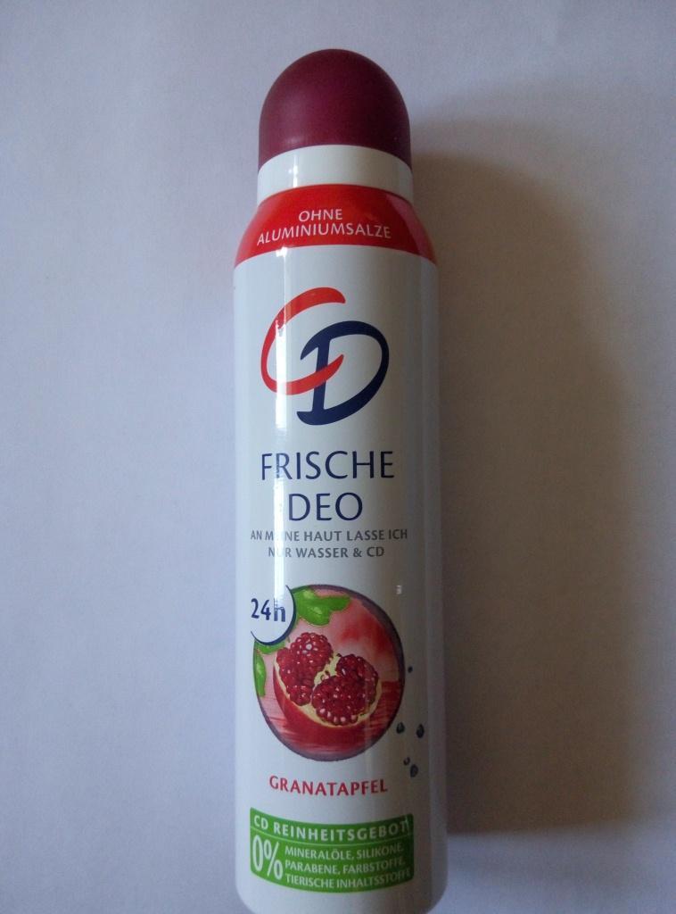 Отзыв на CD Frische Deo дезодорант