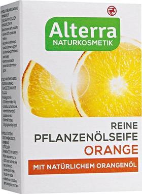 Отзыв на Alterra Мыло из растительного масла Оранжевый из Интернет-Магазина ROSSMANN