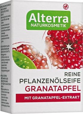 Отзыв на Alterra Мыло из растительного масла Гранат из Интернет-Магазина ROSSMANN