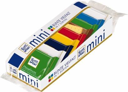 Отзыв на Ritter Sport мини Красочные Разнообразие из Интернет-Магазина ROSSMANN
