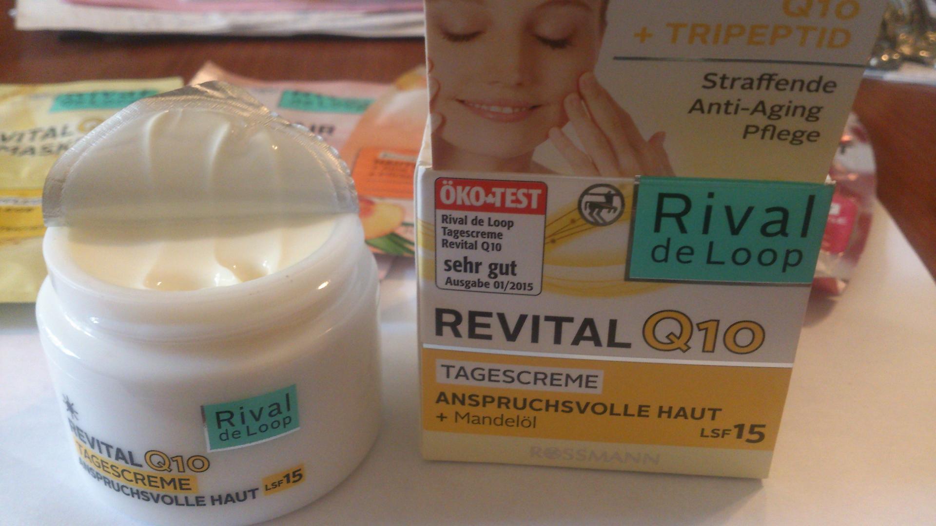 Отзыв на Rival de Loop Revital Q10 Ночной крем из Интернет-Магазина ROSSMANN
