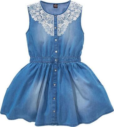 Отзыв на Джинсовое платье - кружевом из Интернет-Магазина Kik.de