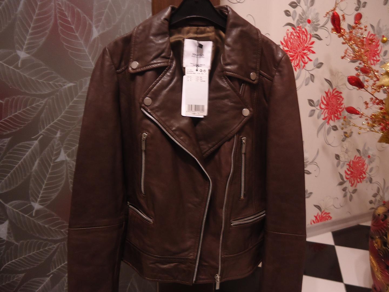 Отзыв на Куртка байкерская с кожи (технику) из MANGO Outlet   ZAKUPKI.DE 4beb72b064d