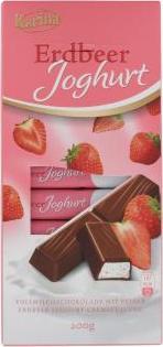 Отзыв на Karina Земляничное Йогурт Шоколадный батончик (200 г) из Интернет-Магазина MyTime