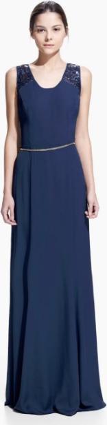 Отзыв на Длинное платье с блестками из Интернет-Магазина MANGO Outlet