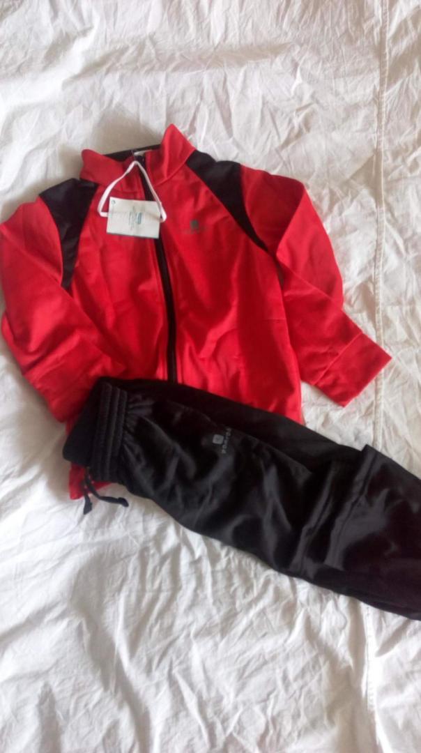 Отзыв на Теплый спортивный костюм  Gym'Y для детей из Интернет-Магазина Decathlon