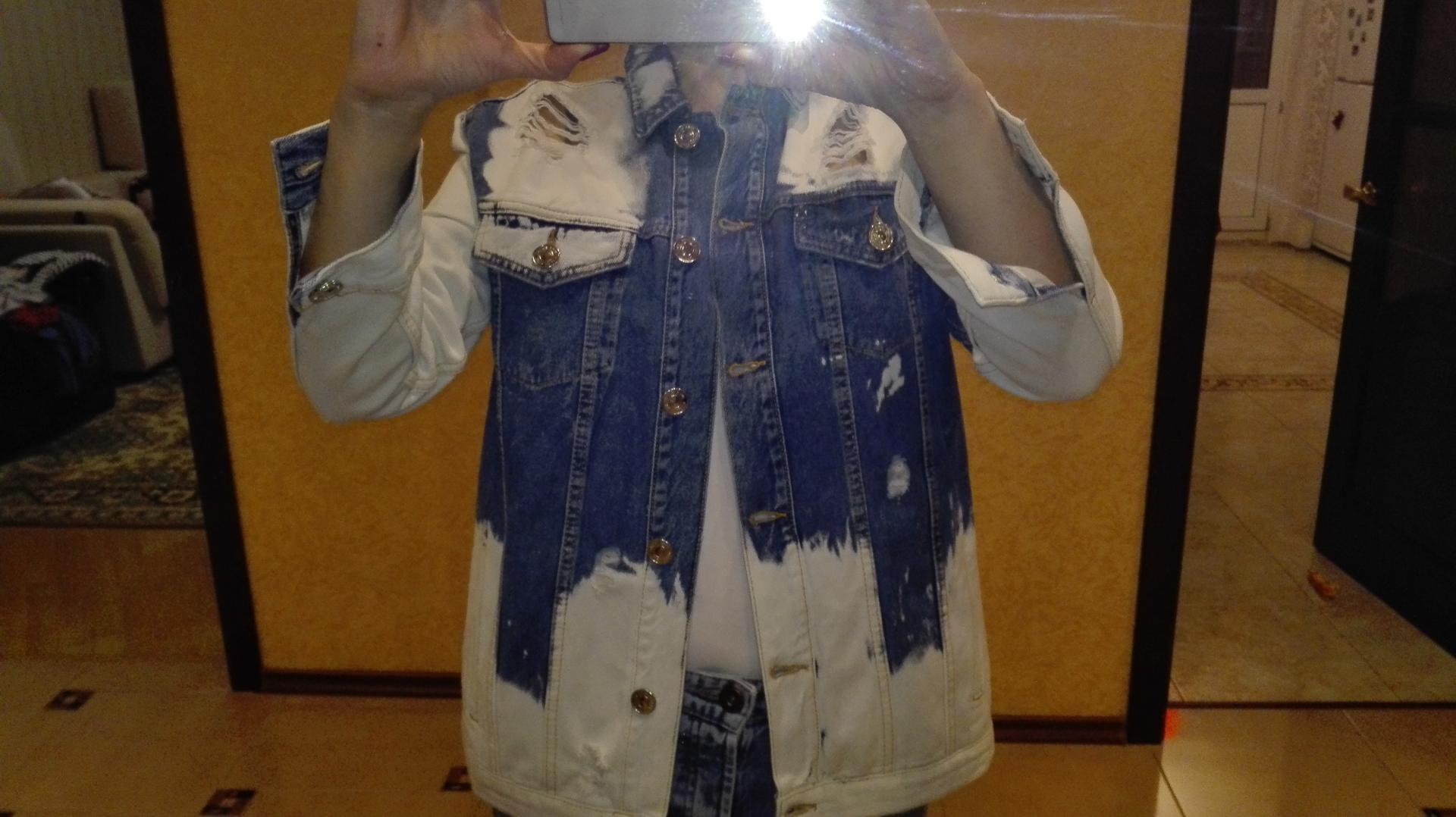 Отзыв на Джинсовая куртка с потертостями из Интернет-Магазина Riverisland.de