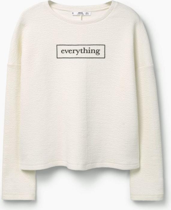 Отзыв на С пестрым рисунком хлопковый свитер из Интернет-Магазина MANGO outlet