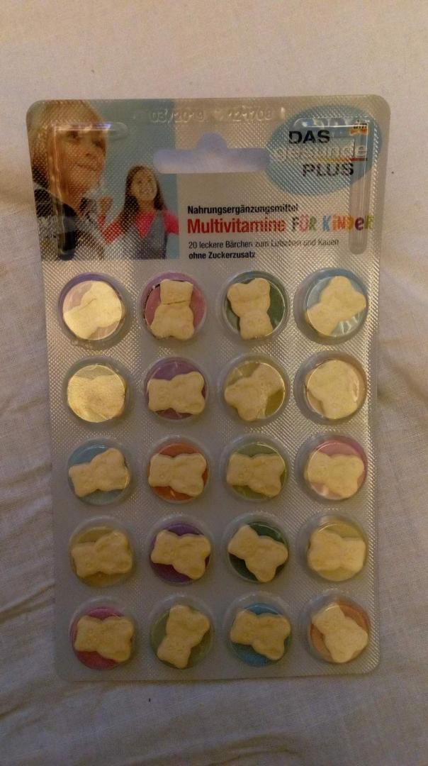 Отзыв на Мультивитамины для детей пастилки, 20 шт из Интернет-Магазина DM
