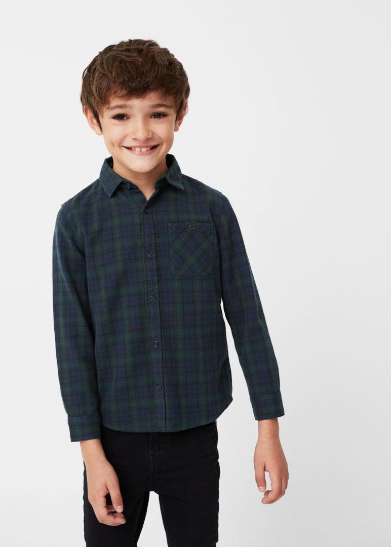 Отзыв на Фланелевая рубашка из Интернет-Магазина MANGO Outlet