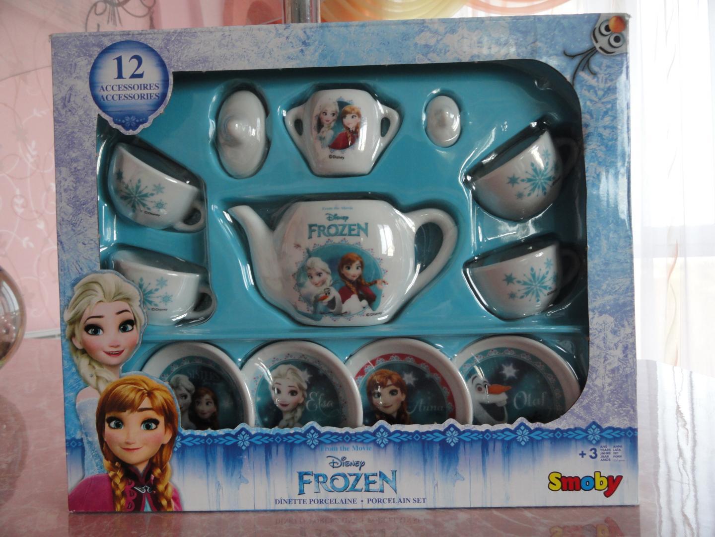 Отзыв на Дисней «The Frozen» фарфоровый чайный сервиз из Интернет-Магазина GALERIA