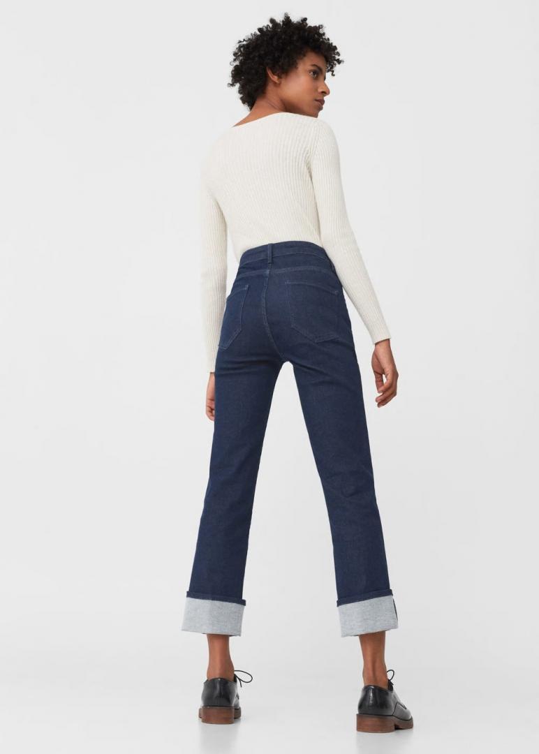 Отзыв на Ровные джинсы из Интернет-Магазина MANGO Outlet