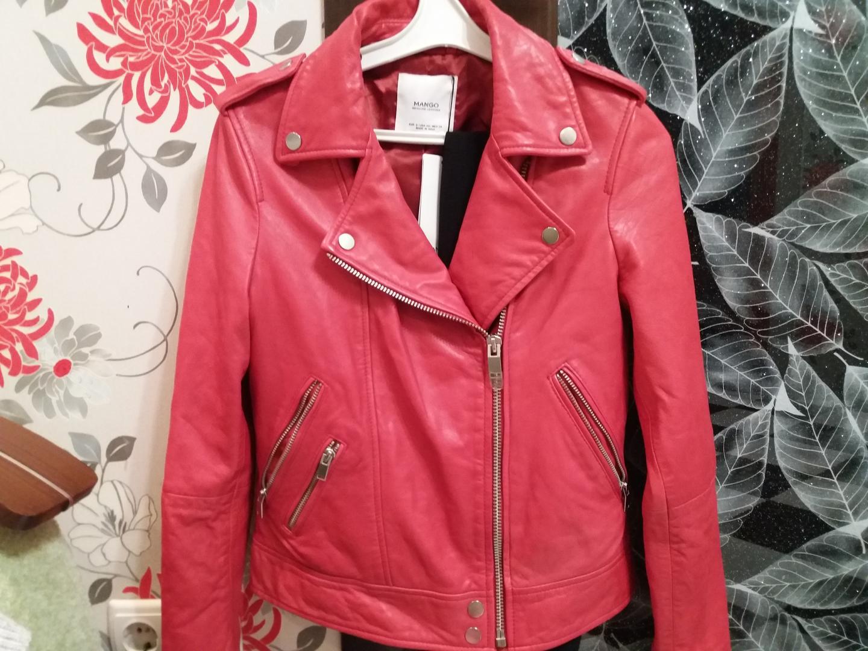 Отзыв на Куртка з байкерською шкірою из Интернет-Магазина MANGO Outlet