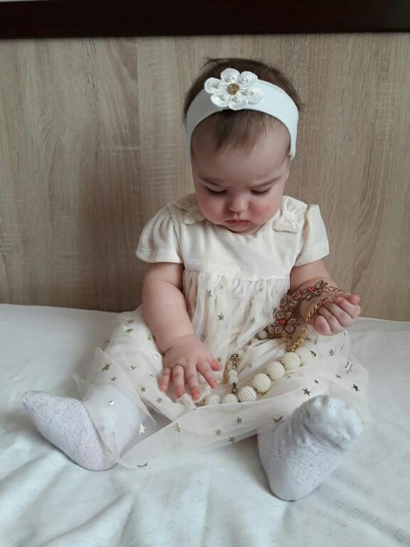 Отзыв на Baby-Kleid - Glanz Effekt из Интернет-Магазина C&A