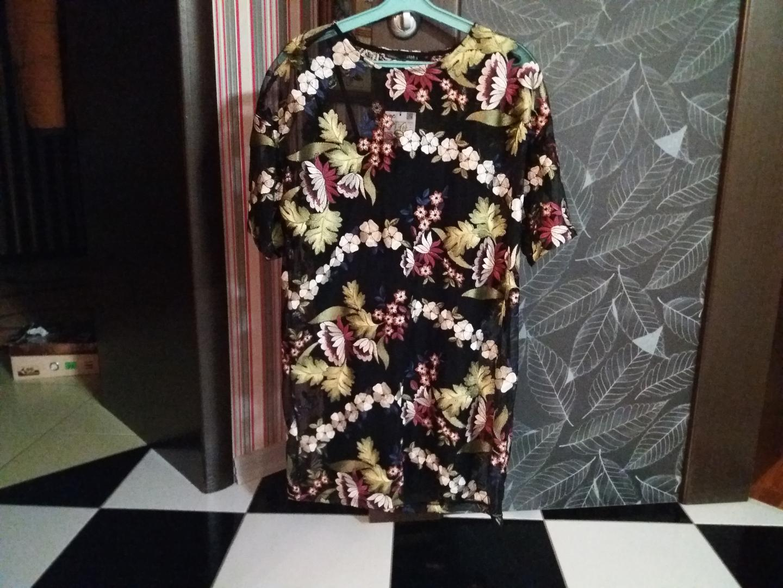 Отзыв на Бальное платье с вышивкой из Интернет-Магазина Zara