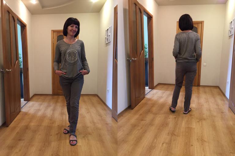 Отзыв на Для женщин Бойфренды штаны из Интернет-Магазина Ernsting