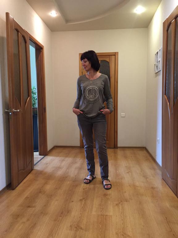 Отзыв на Для женщин кофта с длинным руковом с Мира-Мотив из Интернет-Магазина Ernsting