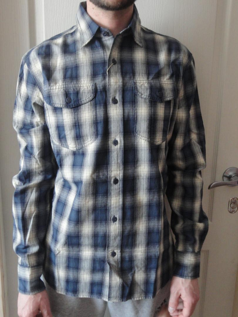 Отзыв на Обычная рубашка с хлопок с чеком из Интернет-Магазина MANGO Outlet