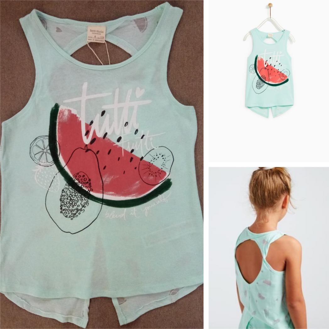 Отзыв на Рубашка с Фламинго из Интернет-Магазина Zara