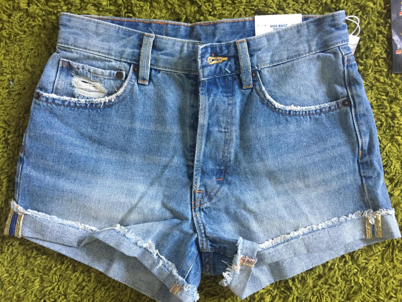 Отзыв на Джинсовые шорты Мама Fit из Интернет-Магазина H&M