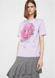 Отзыв на Узорчатая футболка с трещинами из Интернет-Магазина MANGO Outlet