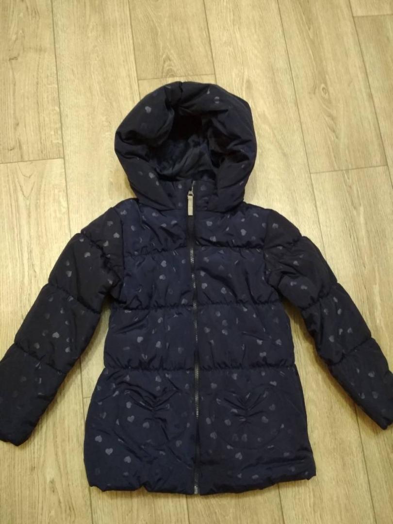Отзыв на Для девочки стеганая куртка с флис подкладка из Интернет-Магазина Ernstings family