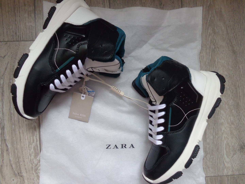 Отзыв на ВЫСОКИЙ сникерсы с MATERIALMIX из Интернет-Магазина Zara